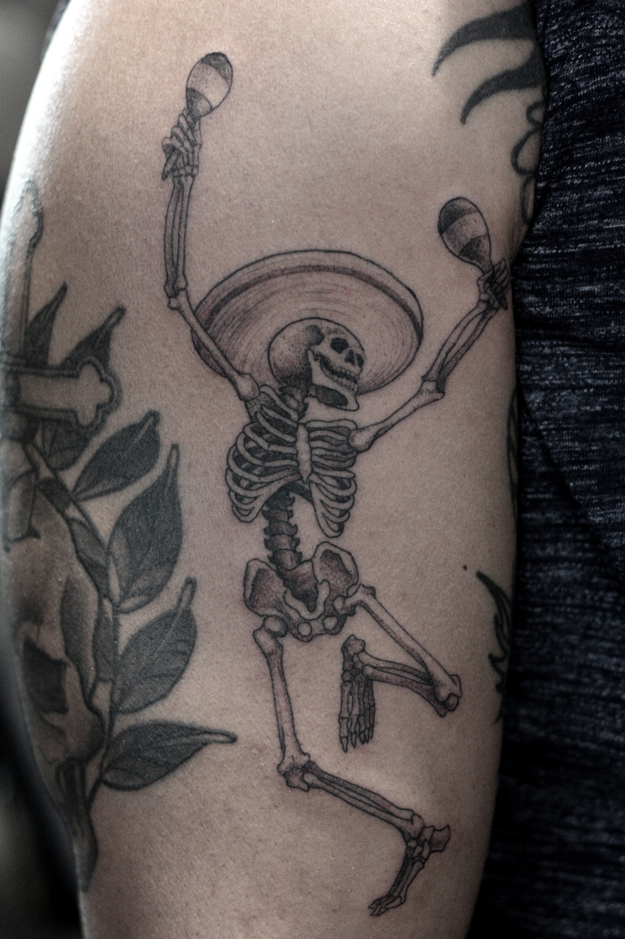dancing-skeleton-tattoo
