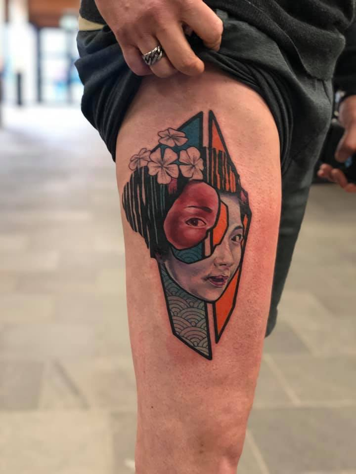 Geisha-tattoo