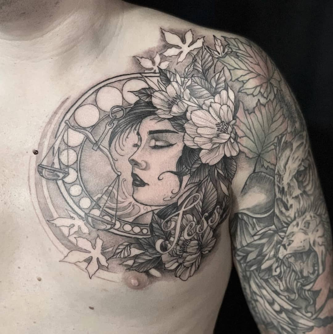 female-zodiac-libra-tattoo