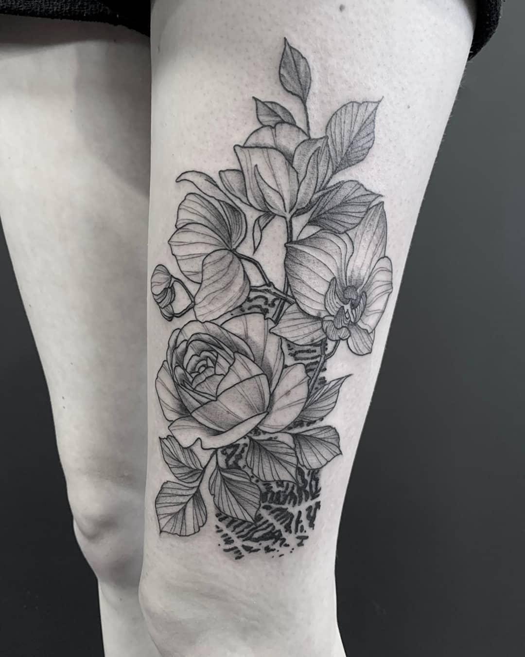 female-leg-tattoo