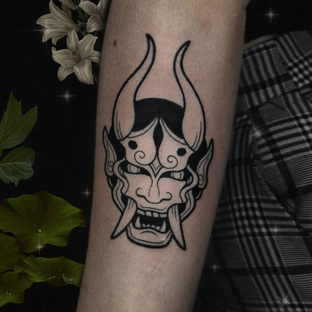 hannya-mask-tattoo