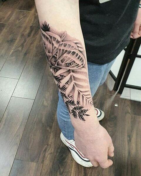 leaf-tattoo-apeldoorn