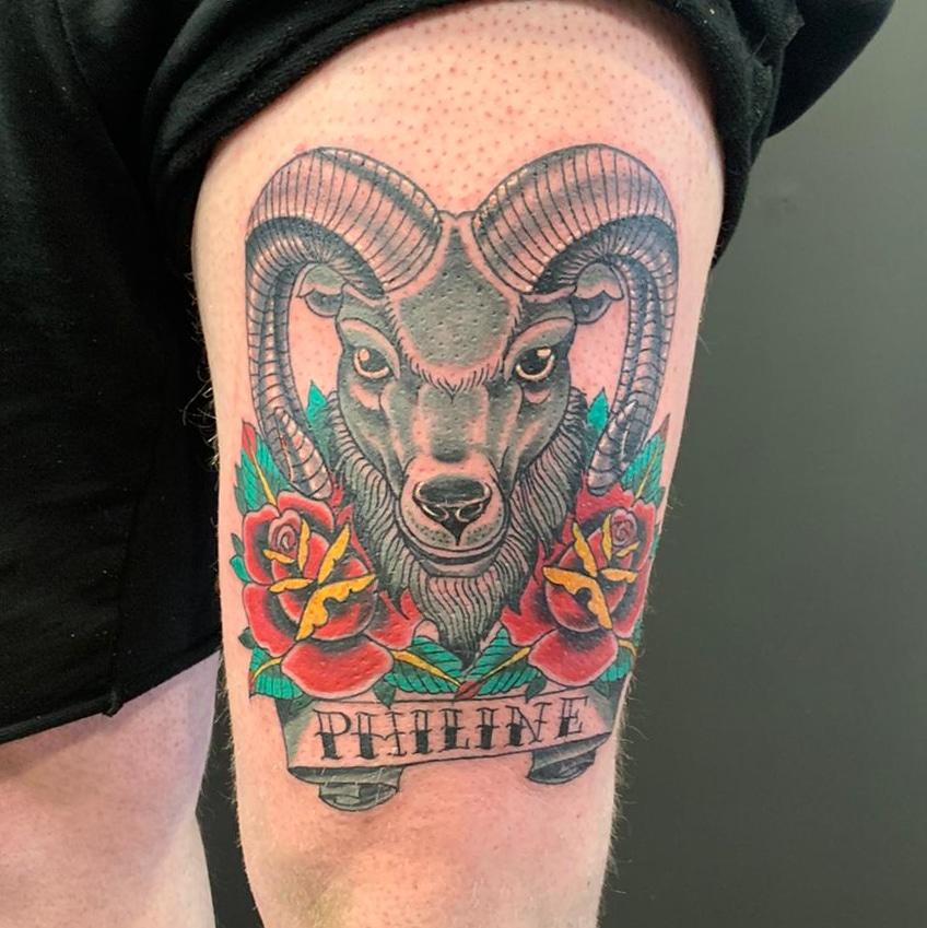 Ram-tattoo